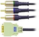 audio-technica AT5V39-2.0m D端子-コンポーネントケーブル