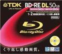TDK(ティーディーケー) ブランクBlu-ray RE二層(10枚) BEV50A1S