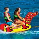 【22日20時より。エントリーでポイント10倍】 バナナボート トーイングチューブ 2人乗り マリンスポーツ WOW (ワオ) ウインナードッグ