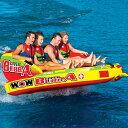 バナナボート トーイングチューブ マリンスポーツ WOW (ワオ) ジャイアントブッバ 4人乗り