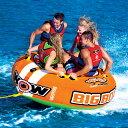 トーイングチューブ バナナボート 4人乗り マリンスポーツ WOW (ワオ) ビッグボーイレーシング 【ss0604】
