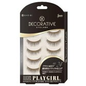 DECORATIVE EYELASH PLAY GIRL 上まつ毛用 No.24 SE85556