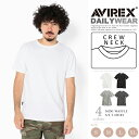 AVIREX 公式通販・DAILY WEAR | デイリー ミニ ワッフル ショートスリーブ ティーシャツMINI WAFFLE CREW NECK S/S T-SHIRT