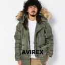 AVIREX 公式通販|ファー取外し可能 ミリタリーコートN-3B COMMERCIAL(アビレックス/アヴィレックス)【送料無料】