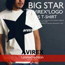 "AVIREX 公式通販 オンライン/DEPOT限定| ショートスリーブ クルーネック ティーシャツBIG STAR ""AVIREX"" LOGO S/S T-SHIRT【送料無料】"