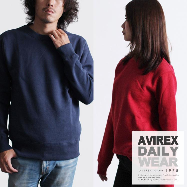 AVIREX 公式通販・DAILY   メンズ デイリー 長袖 クルーネック スウェットDAILY L/S CREW NECK SWEAT