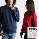 AVIREX 公式通販・DAILY WEAR | メンズ デイリー 長袖 クルーネック スウェットDAILY L/S C...