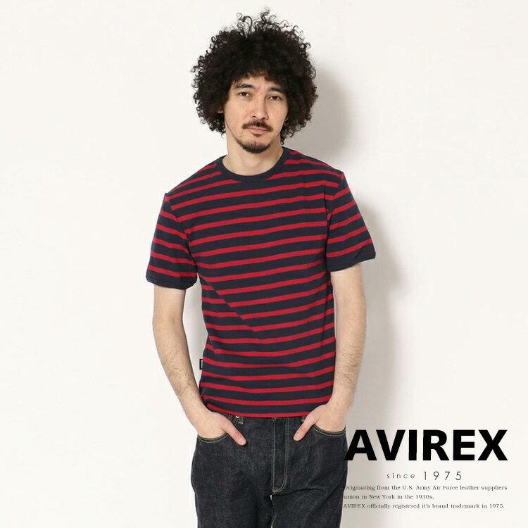 AVIREX 公式通販   デイリー テレコ ボーダーTシャツ/DAILY BORDER T-SHIRT
