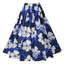 【フラダンス】フラダンススカート ブルー系 SK508-2-3417▼フラダンス衣装 フェスティ
