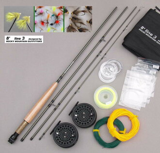 RockyMountain Outfitters twin motion, # 3, fly tackle set