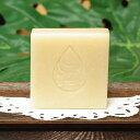 沖縄の手作り自然石鹸チュフディナチュール青パパイヤ石鹸100g