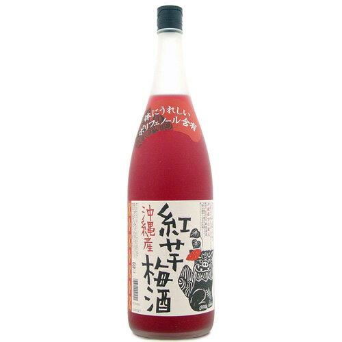 【泡盛梅酒】【新里酒造】沖縄産 紅芋梅酒 12度...の商品画像