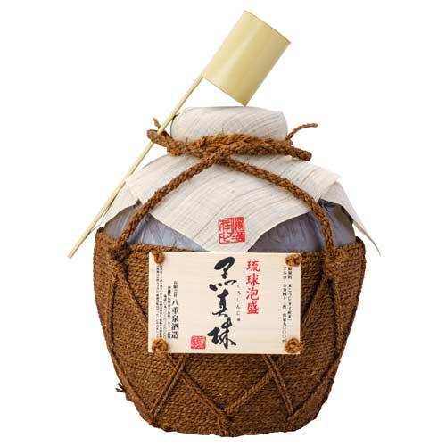 【泡盛】【八重泉酒造】黒真珠 5升壷 43度/9...の商品画像