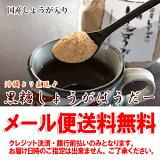 【メール便】黒糖しょうがぱうだー180g×2個セット国産しょうが入り黒糖本舗 垣乃花