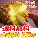 安心保証付き★沖縄産スナックパイン約2.5kg【送料無料】自社管理農園から直送だから安