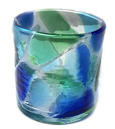 <strong>琉球ガラス</strong>海想H80mm×W85mm<strong>琉球ガラス</strong> グラス <strong>琉球ガラス</strong> <strong>琉球ガラス</strong> 琉球グラス 焼酎グラス 還暦祝い グラス 琉球グラス プレゼント 引き出物 ギフトショップ 結婚式 セット プチギフト 内祝い RYUKYU GLASS WORKS 海風 工房
