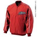 【Mizuno ミズノ】【ウェア】野球 ジャケット ハーフZIPジャケット・長袖 52WW18962 レッド