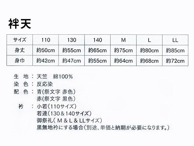 はっぴ専門店【法被(はっぴ)・半被・半纏】市松...の紹介画像2