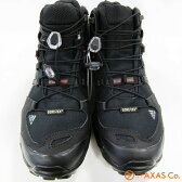 adidas(アディダス) TERREX SWIFT R MID GTX B44136 Col.コアブラック/ビスタグレー/パワーレッド [メンズ/トレッキングシューズ/ブラック系/正規品]
