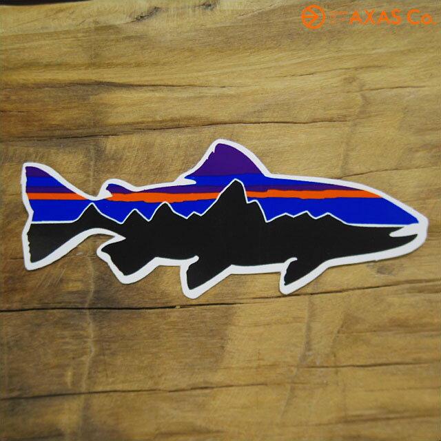 パタゴニア Fitz Roy Trout Sticker