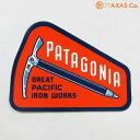 patagonia(パタゴニア) ALPINE AXMEN STIKER 92064 [ステッカー/オレンジ系/正規品]