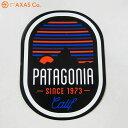 patagonia(パタゴニア) VESPER STIKER 92062 [ステッカー/ブラック系/正規品]