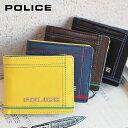 二つ折り財布 0251 ポリス POLICE Colors ...