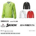 【14春夏】【65%OFF】SRIXON(スリクソン) SMW4101Vネック 2WAY 長袖 撥水ウィンドジャケット(メンズ)