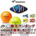【73%OFF】ツアーステージ V10ゴルフボール【日本仕様...