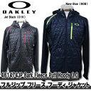 【16秋冬】OAKLEY(オークリー)461474JP Bark Fleece Puff Hoody 3.0 フルジップ フリース フーディ ジャケット