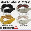 【16春夏】【30%OFF】le coq sportif(ルコック)QG0657 ゴルフ ベルト