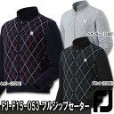 【15秋冬】【50%OFF】FOOTJOY(フットジョイ)FJ-F15-O53 フルジップセーター