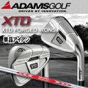 【14年】ADAMS GOLF(アダムスゴルフ)【日本正規品】XTD FORGED(XTD フォージド)単品アイアン N.S.PRO MODUS3 TOUR 120スチールシャフト 【02P03Dec16】