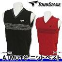 【15秋冬】【70%OFF】TOURSTAGE(ツアーステージ)ATM01C メンズ ニットベスト