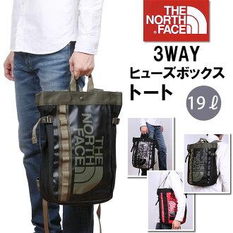 北臉 (北臉) 大小便於使用容易,手提包 / 肩膀 / 背包西元前保險絲盒大手提包 (基地保險絲盒手提袋)-3-3 方法手提袋北臉 nm81503_RE_KF_XR