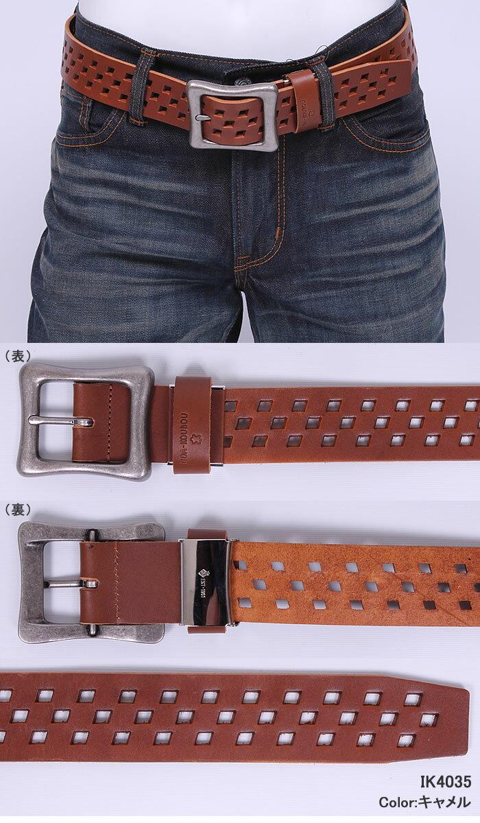 Punching Leather Belt (...の紹介画像3
