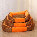 犬ベッド 猫マット 寝具ドッグベッド ペットベッド 角型 クッションベット 四季通用 ソファベッド サイズS、M 全3色 取り外し可