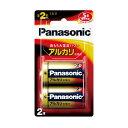 パナソニック アルカリ乾電池 単2形2本パック LR14XJ/2B【RCP】