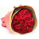 バラの花束 50本入り 赤系