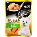 CEP2 シーザー蒸しささみ 成犬用/ゼリータイプささみ・野菜入り 70g【RCP】