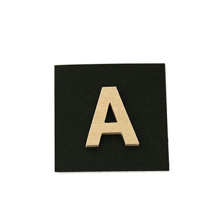 シナベニア製抜き文字 A シナベニア製抜き文字 PSB25-A