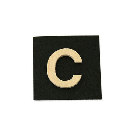 シナベニア製抜き文字 C シナベニア製抜き文字 PSB25-C