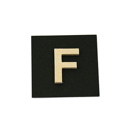 シナベニア製抜き文字 F シナベニア製抜き文字 PSB25-F