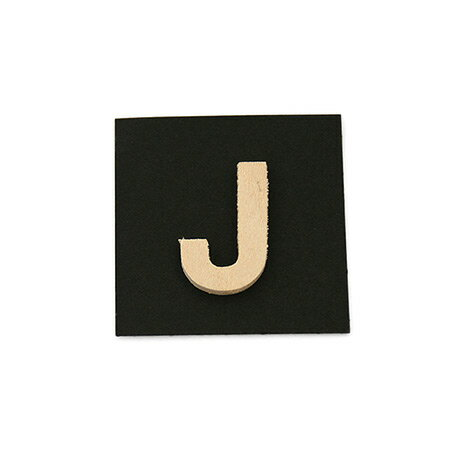 シナベニア製抜き文字 J シナベニア製抜き文字 PSB25-J