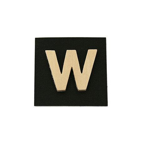 シナベニア製抜き文字 W シナベニア製抜き文字 PSB25-W