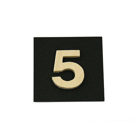 シナベニア製抜き文字 5 シナベニア製抜き文字 PSB25-5