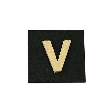 シナベニア製抜き文字 V シナベニア製抜き文字 PSB25-V
