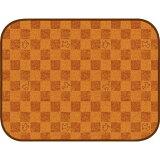 ペットの防滑消臭マット 100×130 ブラウン【RCP】【10p31aug14】
