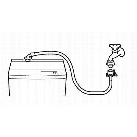 自動洗濯機給水ホース PT17-1-3M【洗濯...の紹介画像3