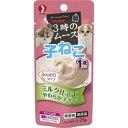 キャネット 3時のムース 子ねこ用 ミルク仕立て 25g【ペットライン キャネット キャットフード ウェットフード】